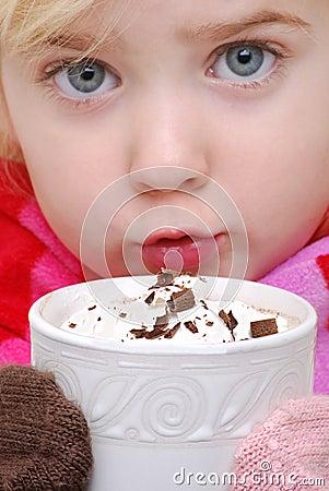 Drinking Cocoa