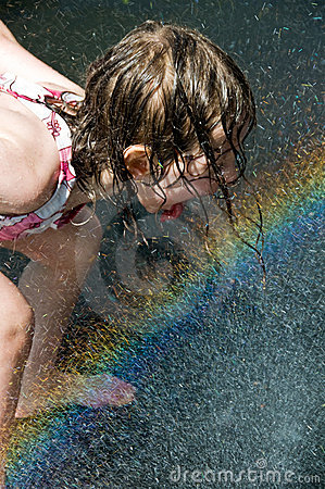 Drinking the rainbow