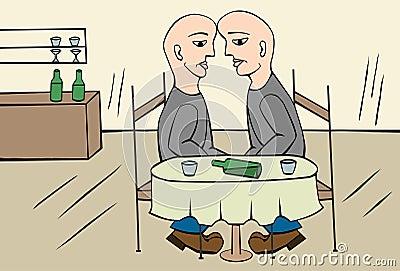 Drinking twins