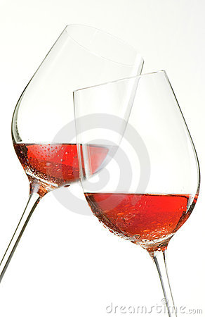 Free Drinking Wine Clinking Glasses And Saying Cheers Royalty Free Stock Images - 11761139