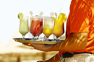 Drinks on the beach - Enjoy