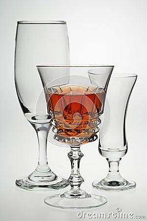 Drinks glasses