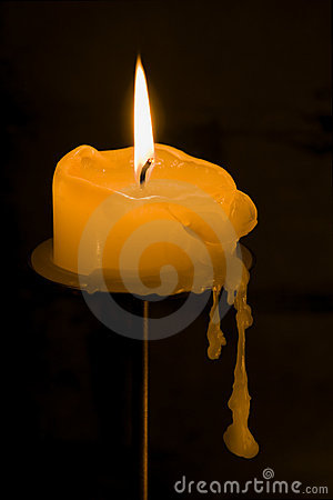 Dripping Candle