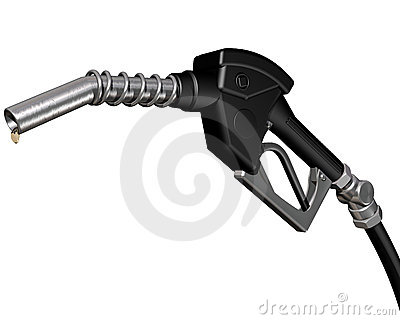 Dripping diesel pump nozzle