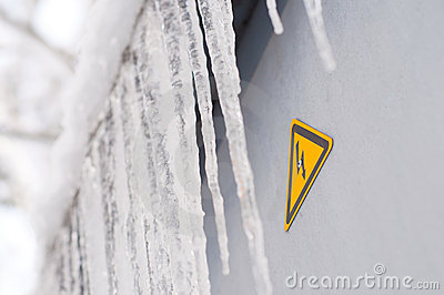Dripping icicles