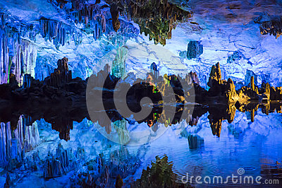Dripstone cave (Reed flute cave)