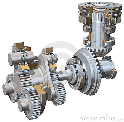 Free Drive Gears Stock Photo - 1514850