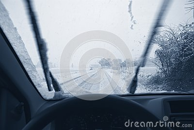 Drive on the snow