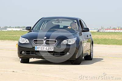 Drive test Editorial Stock Photo