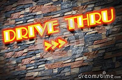 Drive thru neons