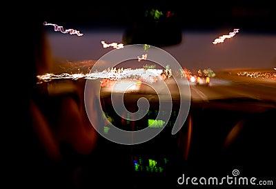 Driver di notte.
