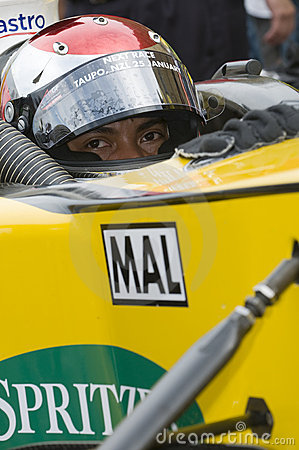 Driver Fairuz Fauzy of A1 Team Malaysia Editorial Stock Image