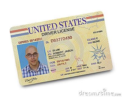 driver license stock photo image 43920374