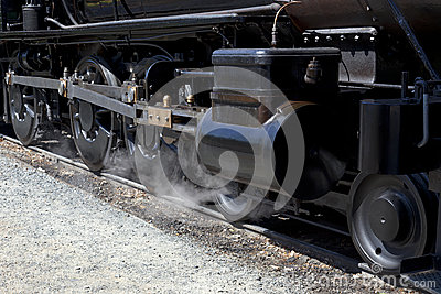 Drivers on Steam Locomotive