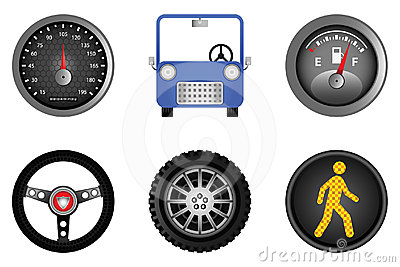 Driving & Automobile Icons