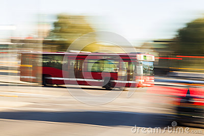 Driving bus
