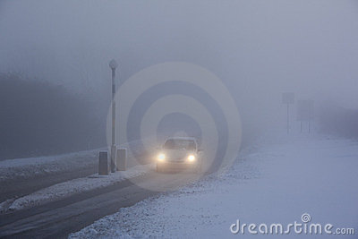 Driving in Freezing Fog - United Kingdom