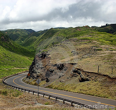 Free Driving Maui Island S Mountain Roads Stock Photos - 256413