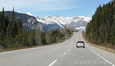 Driving In Mountains Stock Photography - Image: 5852382