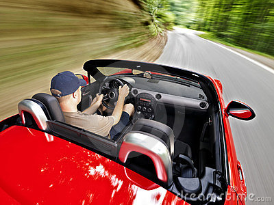 Driving roadster