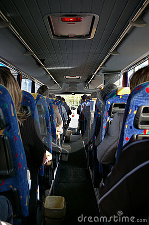 Free Driving With A Bus Royalty Free Stock Photos - 5408988