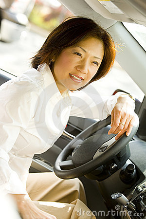 Driving Woman