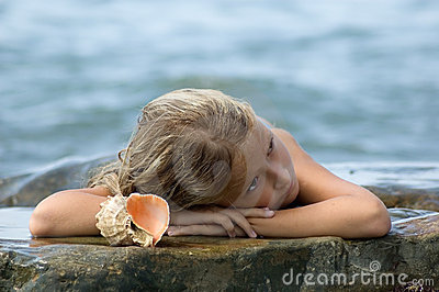 Drömma mermaid