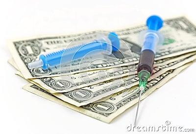 Droge und Geld