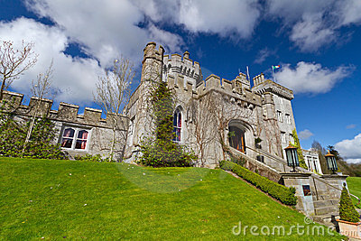 Dromoland Castle in sunny day