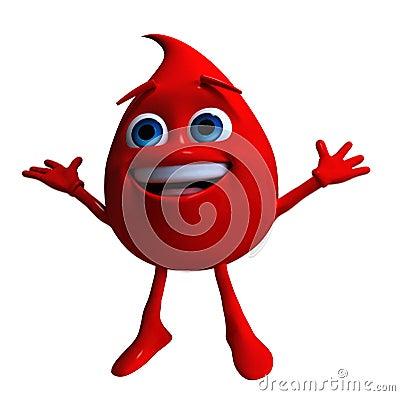 blood drop cartoon. DROP OF BLOOD (click image to