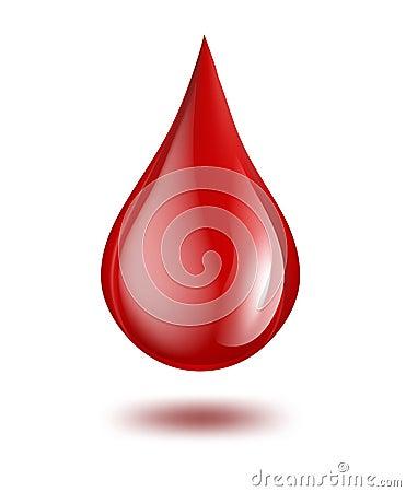 Free Drop Of Blood Stock Photos - 30938043