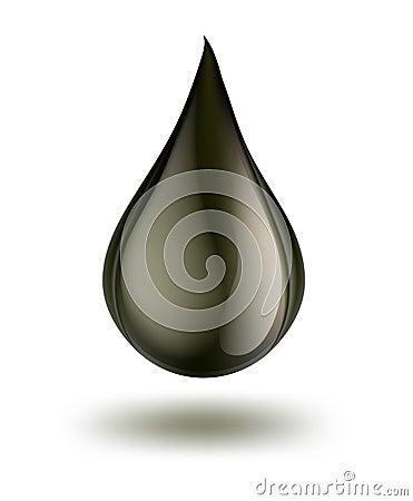 Free Drop Of Petrol Royalty Free Stock Image - 29499576