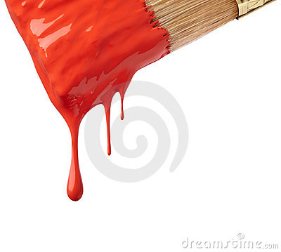 Free Drop Of Red Paint Royalty Free Stock Photography - 11097567