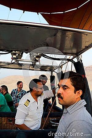 Free Drop Process Of Balloon In Luxor Stock Photos - 48243983