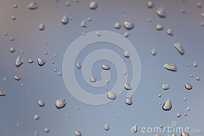 Drop of the rain