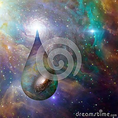 Droplet Cosmos