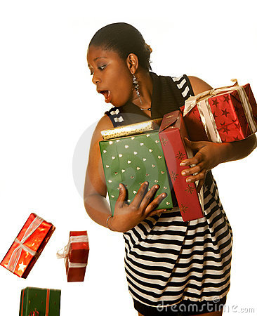 Dropping christmas presents