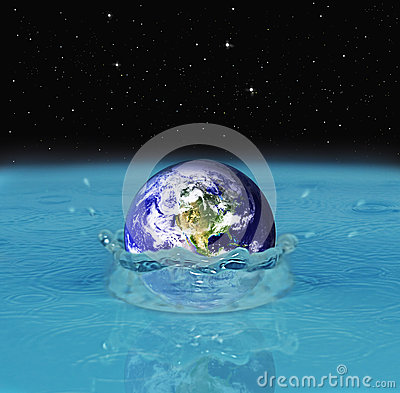 Dropping earth