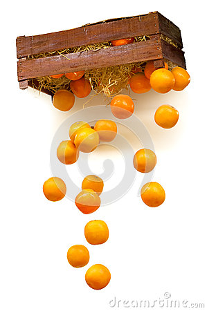 Dropping oranges