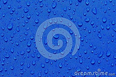 Drops of clear liquid