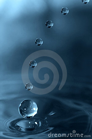 Drops Falling