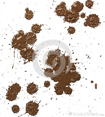 Free Drops Of Mud Splashes. Royalty Free Stock Photography - 103792227