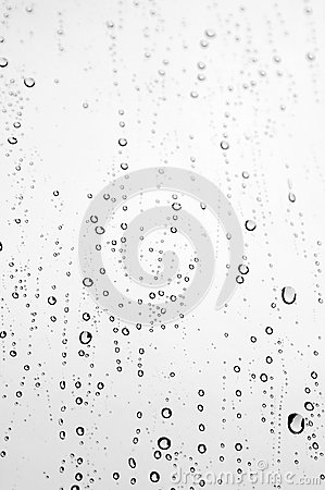 Free Drops Of Rain On The Window Royalty Free Stock Photo - 27253505
