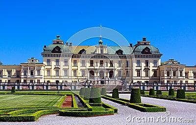 Drottningholm palace in Stockholm,