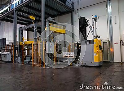 Druckerei: Automatisiertes Lager (für Papier)