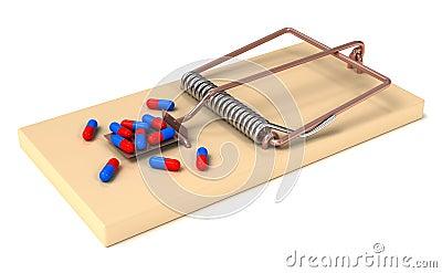 Drug trap.