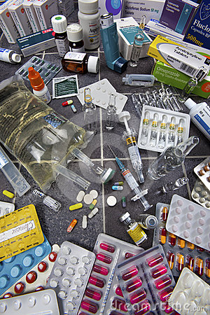 Drugs - Pills - Medicine Editorial Image
