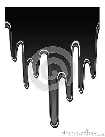 Druipende olie