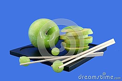Druiven en de Chinese staven