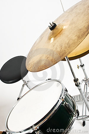 Drum and cymbals